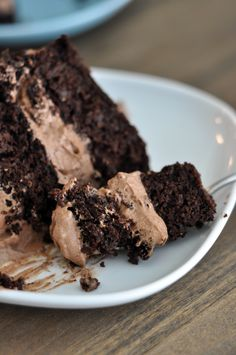 Decadent Gluten-Free Chocolate Cake ( the secret ingredient is quinoa)