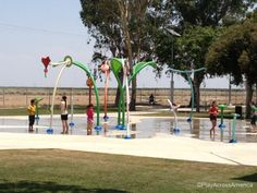 Lost Hills Paramount Park and splash park, Lost Hills, CA PlayAcrossAmerica.com