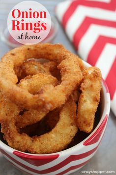 Oh my, Homemade Onion Rings are one of my favorite foods. I felt the NEED to share our homemade Onion Rings Recipe with all of you. If you follow my recipes
