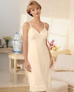 Women's Dixie Belle Lace Slip Retro Lingerie, Satin Lingerie, Lingerie Dress, Lingerie Slips, Lingerie Drawer, Lace Slip, Ladies Slips, Night Gown, Women Wear