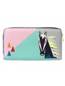 Disaster Designs 'Dakota' Horse Wallet Disaster Designs, Christmas Shopping, Zip Around Wallet, Horse, Cute, Bags, Handbags, Kawaii, Horses