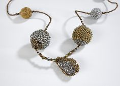 Finders Keepers: Beaded Beads, by NanC Meinhardt