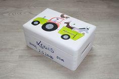 Kisten & Boxen - Spitzbub Erinnerungsbox Erinnerungskiste Bauernhof - ein Designerstück von Spitzbub bei DaWanda