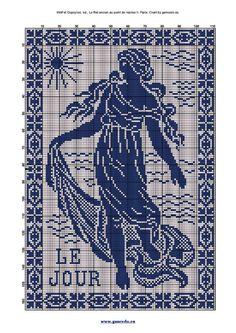 Gallery.ru / Photo # 171 - Rare Mono (2) - Olgakam Crochet Cross, Knit Crochet, Fillet Crochet, Fantasy Creatures, Beading Patterns, Crochet Stitches, Needlepoint, Crochet Projects, Cross Stitch Patterns