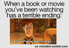 "I should of done that at the end of Thor! I said "" WHAT KIND OF A ENDING WAS THAT"" at the end of thor"