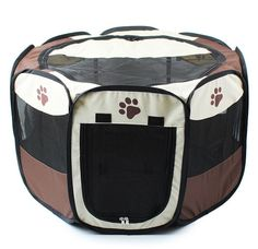 Thinkle ONE Pet Puppy Dog Cat Playpen Tent Exercise Puppy Pen Kennel >>> See this awesome image  : Dog kennels