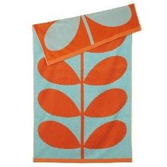 The Summer may be over but this beach towel will still look great in the bathroom, available at www.fionaturley.com