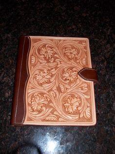 Farris Custom Leatherworks custom iPad cover