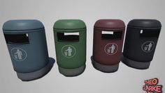 Low Poly Trash Can has just been added to GameDev Market! Check it out: http://ift.tt/1W2HqnT #gamedev #indiedev