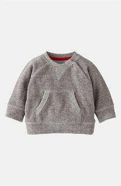 Mini Boden 'Toweling' Sweater (Infant)   Nordstrom