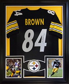 7581b6f16 ... sweden shop antonio brown framed jersey signed jsa coa autographed pittsburgh  steelers and more authentic autographed