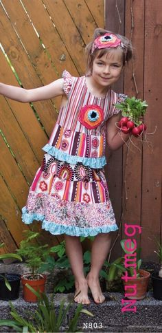 Nutmeg Cinderella Dress - Whippersnappers  ZaZa Couture  Fun Patterns  Pretty Dress SALE!