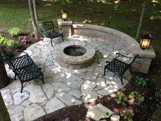 Flagstone Patio Flagstone Patio Pavers Design Ideas For Backyard Patio Landscaping Ideas Backyard Patio Designs, Backyard Landscaping, Patio Ideas, Pavers Ideas, Landscaping Ideas, Backyard Seating, Lanai Ideas, Stone Patio Designs, Stone Landscaping