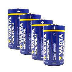 Varta Lot de 10 Pile Industrial 4020 alcalines Mono lR20/d/481386 mN1300 Coke, Red Bull, Energy Drinks, Coca Cola, Beverages, Canning, Germany, Home, You're Welcome