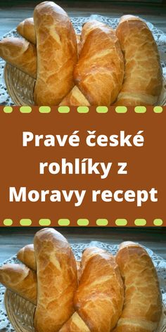 Bread Dough Recipe, Savory Pastry, Czech Recipes, Hot Dog Buns, Bread Recipes, Food And Drink, Homemade, Baking, Sweet
