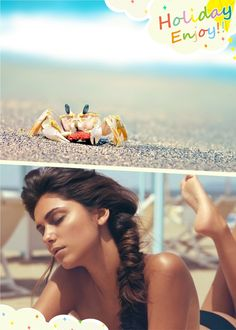 braided summer hairstyle beach