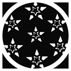 #Stars In A #Circle In A #Square Stretched #Canvas #art #favorite This is one of my absolute #favorites of the art that I've made!