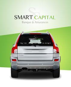 Smart Capital - Création logo et sticker voiture. Vehicles, Car, Logo Creation, Projects, Automobile, Autos, Cars, Vehicle, Tools