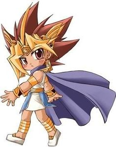 Chibi Pharaoh Atem <3