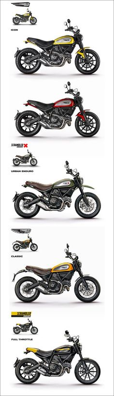 Ducati Scrambler 2015 ! 800cm3 - 75 ch (55.2 kW) à 8 250 tr/min et 6.9 m/kg à 5 750 tr/min, 6 vitesses - 192kg tout pleins faits