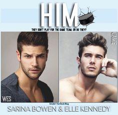 HIM by Sarina Bowen & Elle Kennedy