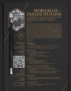 Resume design creative - 11 Resume Designs with Slick Personal Branding – Resume design creative Self Branding, Personal Branding, Resume Design Template, Creative Resume Templates, Design Resume, Resume Ideas, Branding Design, Best Resume, Resume Cv