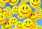 Falling-its raining          and to days weather report is cloudy with a chance of smiley faces.   Lol