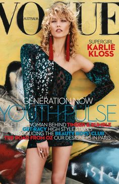 Vogue Australia April 2017 : Karlie Kloss by Benny Horne - Page 2 - the Fashion Spot