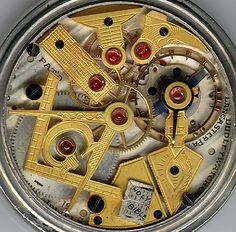 Dudley Masonic Pocket Watch.  Visit Renaissance Fine Jewelry and Renaissance Fine Antiques of New England in Vermont. www.vermontjewel.com, eBay or Ruby Lane.