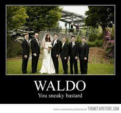 Waldo…