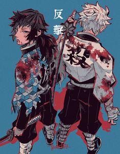 Manga Anime, Me Anime, Fanarts Anime, Anime Demon, Anime Guys, Anime Characters, Anime Art, Demon Slayer, Slayer Anime