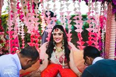 Delhi Wedding of Rishika and Akhil Mehendi Photography, Flower Decorations, Wedding Decorations, Mehndi Decor, Fun Shots, Bridal Portraits, Indian Bridal, Photo Booth, Diaries