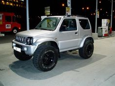suzuki-jimny is this a production truck? Cool!