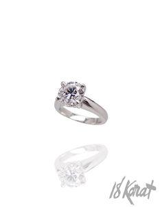Jacqueline's Engagement Ring   18Karat