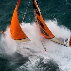 Outstanding picture!! Strong winds for Vincent Riou yesterday @benoit_stichelbaut / PRB #VG2016#extreme#sailing#instasailing#sailingworld#roundtheworld#offshoresailing#oceanmasters#offshore#imoca60#vendeeglobe#vendeeglobe2016#solosailors#oceanracing#picoftheday#photooftheday#instapic
