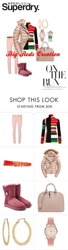 """""""The Cover Up – Jackets by Superdry: Contest Entry"""" by bigreds ❤ liked on Polyvore featuring Superdry, Balenciaga, Kenzo, Brooks Brothers, Fuji, UGG, Louis Vuitton, Fragments and Henry London"""