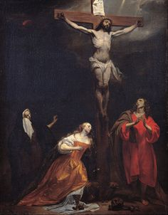 """""""Crucifixión"""", Gabriël Metsu (ca. 1660-1665). Museos Capitolinos, Roma."""