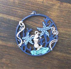 Mermaid+Necklace+for+Gift+Handmade+Mermaid+by+MontourDesigns