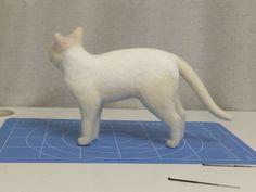 ボボチン仕上げ | ネコ作りの現場から~横山まゆみのリアルで可愛い羊毛フェルト猫