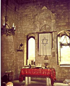 The Scolanova Synagogue in Trani, Southwest Italy in the Adriatic coast was converted to a church in the 14th C. but regained its status as a synagogue in the year 2006. 600 years!
