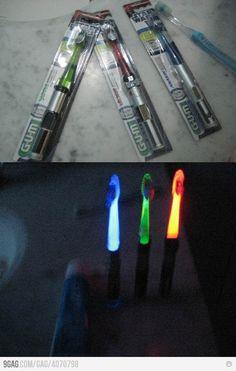 Star Wars tooth brush