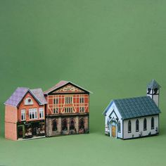 Make a Printable Village Church in 1:144 Scale