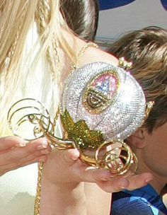 Swarovski Cinderella coach as a purse!