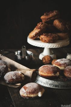 OMG ==> Irish Cream Filled Doughnuts | Pass The Sushi