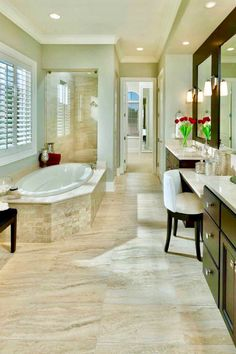 Exceptional 28 Arousing Master Bathroom Designs🚿