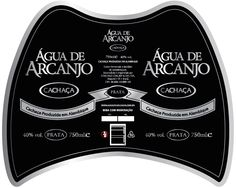 """Rótulo novo para a garrafa de cahcaça Água de Arcanjo Prata. Curitu o formato da """"asa"""" do Arcanjo? Acesse nosso site e opinie: www.aguadearcanjo.com.br"""