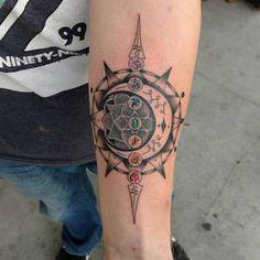 Chakra Tattoo 45