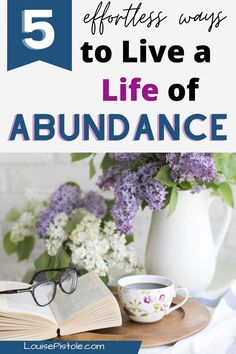 To live a life of abundance, you have to be driven by good values such as generosity, kindness, and gratitude. Simple Rules, Discover Yourself, Positive Thoughts, 5 Ways, Abundance, Gratitude, Life Is Good, Happiness, Joy