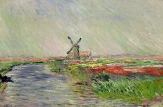 Champ de tulipes en Hollande (C Monet - W 1069),1886.