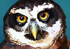 Owl Vector by elviraNL.deviantart.com on @DeviantArt